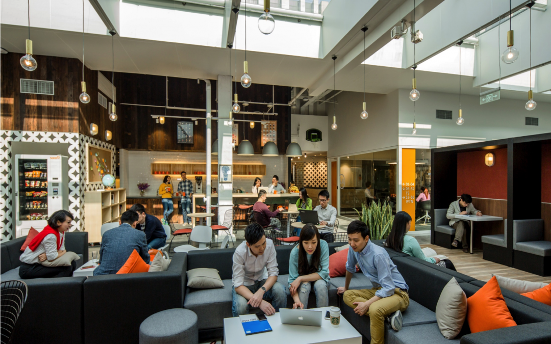 Co-working in Trend – A Look Inside the Collaborative Work Environment